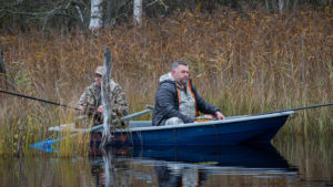 Рыбалка осенью на базе отдыха Заветное
